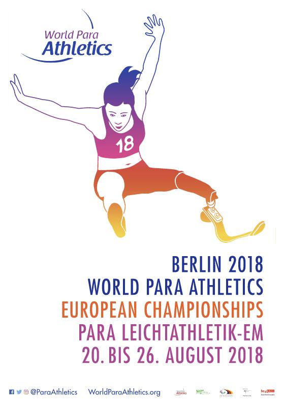 Para Athletics Europameisterschaften Berlin 2018