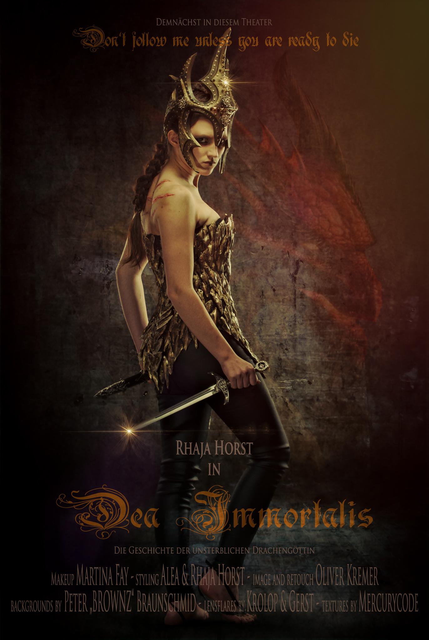 Dea Immortalis – die unsterbliche Drachen Göttin