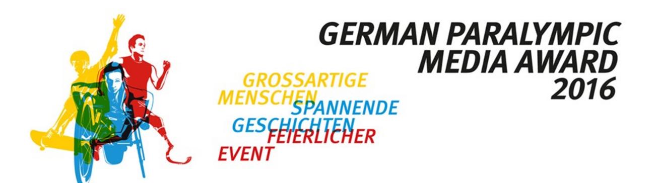 German Paralympic Media Award 2016